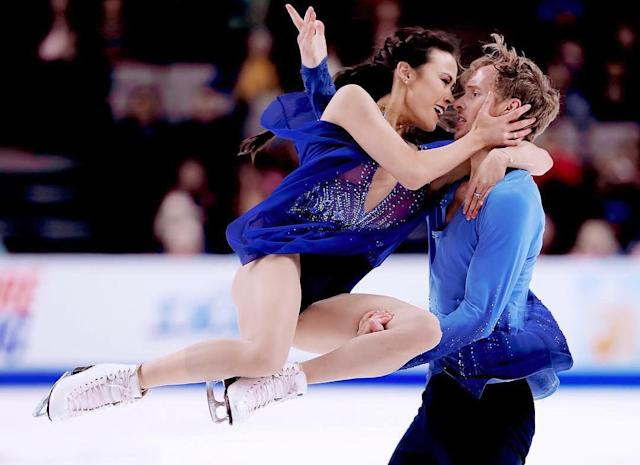 <p>Madison and Evan weren't dating back when they competed together in Sochi. Perhaps their chemistry off the ice will translate into a medal-winning performance on it. They'll first take the ice on Sunday, Feb 11th to compete in the short dance.<br> She and Evan placed 3rd at the U.S. Championship in January, and in PyeongChange they'll look to avenge their 8th place performance from Sochi in 2014.<br> (Instagram/@chockolate02) </p>