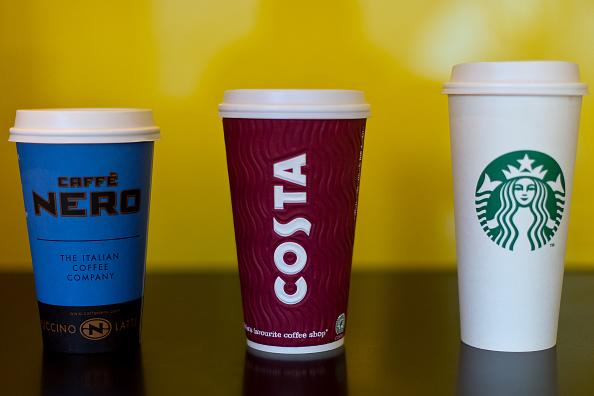 Britain uses some 2.5 billion takeaway coffee cups a year (Ben Pruchnie/Getty Images)