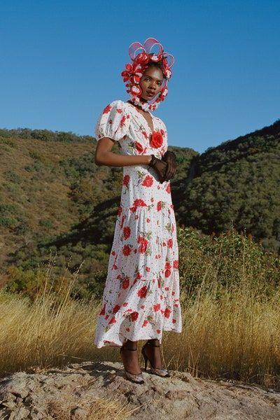 <p>Flowers, which often signify new beginnings, peppered the runways at Rodarte <em>(left)</em>, Anna Sui, and Erdem. Some designers took an all-over approach by mixing florals head-to-toe.</p>