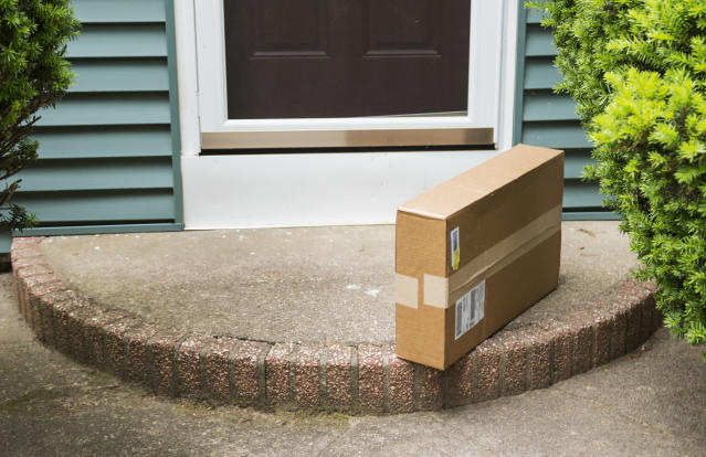 Over one in two online shoppers experienced delivery problems. [Photo: Getty]