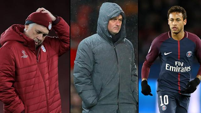Gossip: Ancelotti 'to replace Conte at Chelsea', Mourinho and Mkhitaryan in 'video bust-up', Neymar 'holds Real Madrid talks'