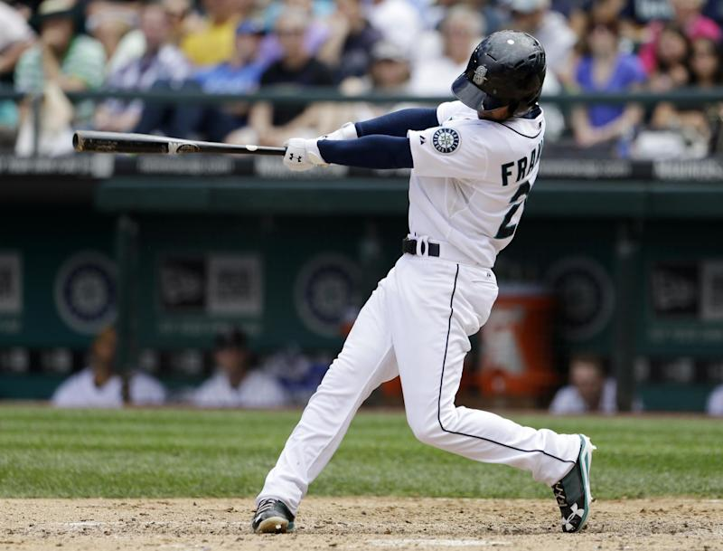 Franklin hits 2 homers, Mariners beat Twins 6-4