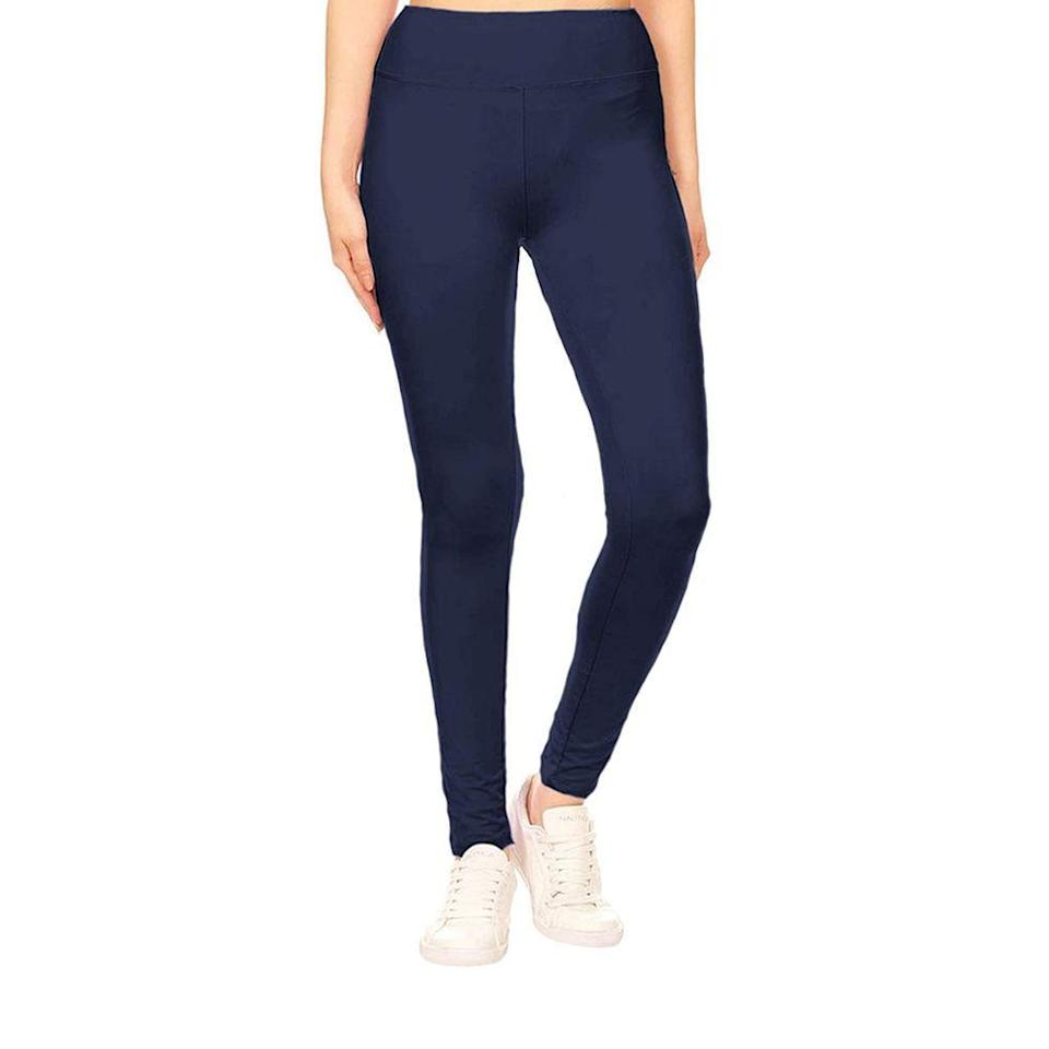 "<p><strong>Leggings Depot</strong></p><p>amazon.com</p><p><strong>$9.99</strong></p><p><a href=""https://www.amazon.com/dp/B07WP6H38F?tag=syn-yahoo-20&ascsubtag=%5Bartid%7C10055.g.35996140%5Bsrc%7Cyahoo-us"" rel=""nofollow noopener"" target=""_blank"" data-ylk=""slk:Shop Now"" class=""link rapid-noclick-resp"">Shop Now</a></p><p>With more than 13,000 reviews and nearly a perfect 5-star rating, we're intrigued! They're so cheap, too. One reviewer said, ""I don't know what kind of black magic sorcery they used to make these leggings so damn comfortable and NOT see-through."" Now that's some feedback we can be confident about listening to.<br></p>"