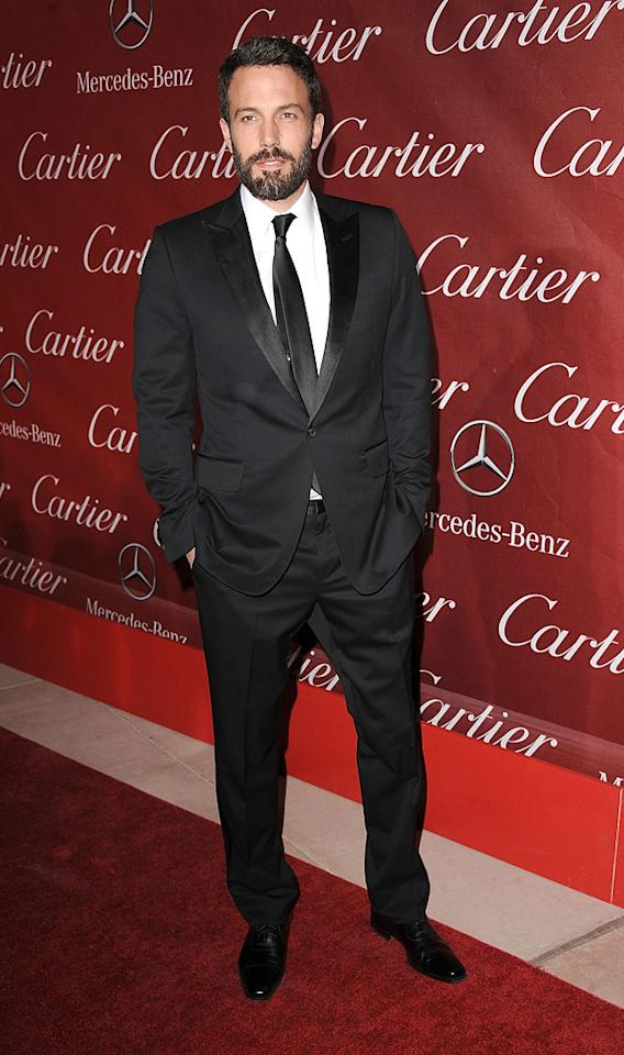 """<a href=""""http://movies.yahoo.com/movie/contributor/1800018969"""">Ben Affleck</a> attends the 22nd Annual Palm Springs Film Festival Awards Gala in Palm Springs on January 8, 2011."""