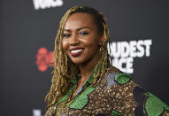 "FILE - In this June 24, 2019, file photo, Black Lives Matter co-founder Opal Tometi attends the premiere of the ShowTime limited series ""The Loudest Voice"" at the Paris Theatre in New York. Several years since its founding, BLM has evolved well beyond the initial aspirations of its early supporters. Tometi was one of the three women who founded BLM. (Photo by Evan Agostini/Invision/AP, File)"