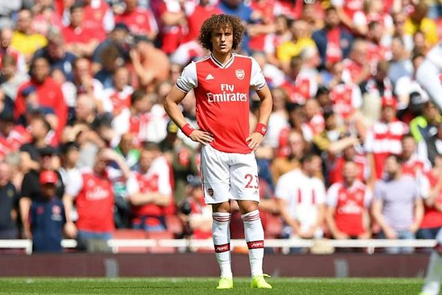 David Luiz was at fault for two of Liverpool's goals in a 3-1 win over Arsenal (AFP Photo/Daniel LEAL-OLIVAS)