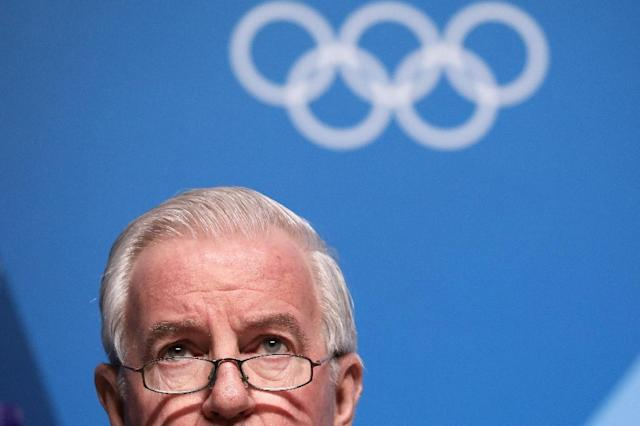 Speaking on the eve of the Games in South Korea, World Anti-Doping Agency (WADA) president Craig Reedie attempted to assuage the concerns of athletes who fear their rivals could dope their way to gold (AFP Photo/Florian CHOBLET)