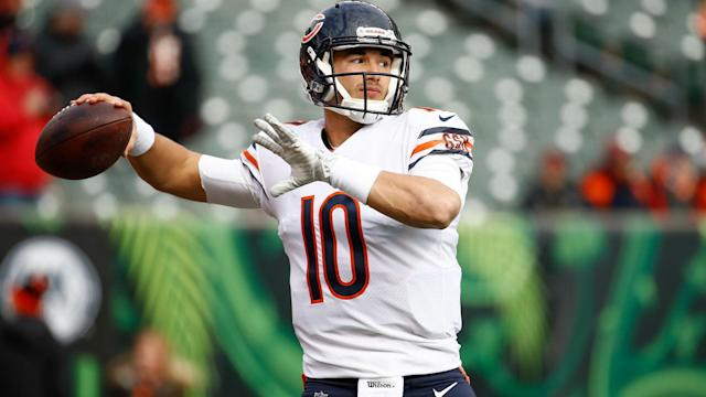 Mitchell Trubisky may again be out for the Chicago Bears this weekend and Matt Nagy is not willing to rush the quarterback.