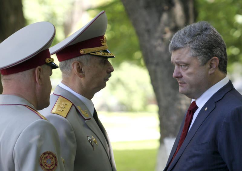 Ukraine's president offers cease-fire in east