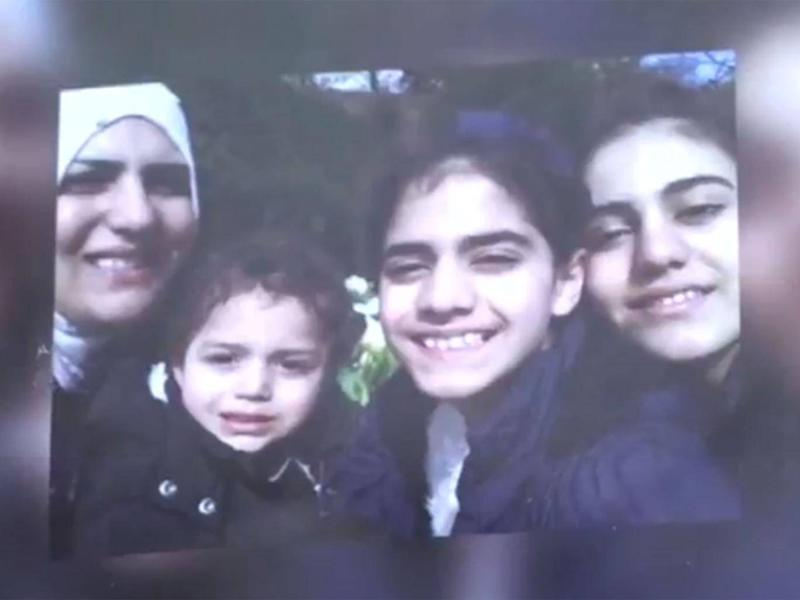 Nadia Choucair with members of her family. They were found on the 22nd floor (Grenfell Tower Inquiry)