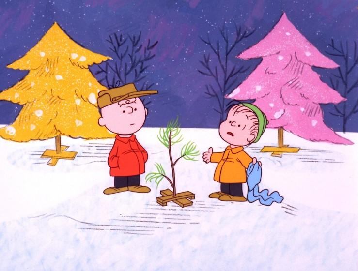 """A scene from """"A Charlie Brown Christmas."""""""