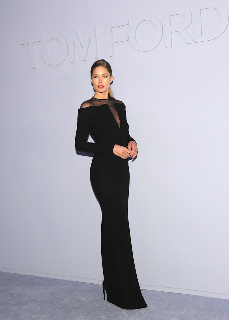 Doutzen Kroes What: Tom Ford Where: At the Tom Ford women's Fall 2018 show, New York City When: February 8, 2018