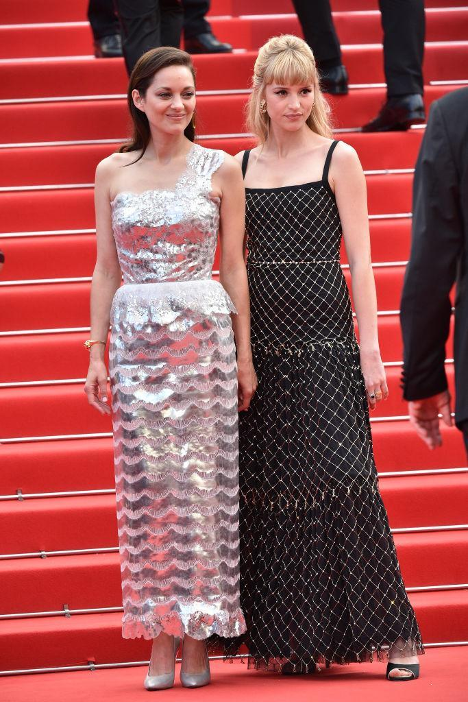 Marion Cotillard and Angèle in Chanel Haute Couture