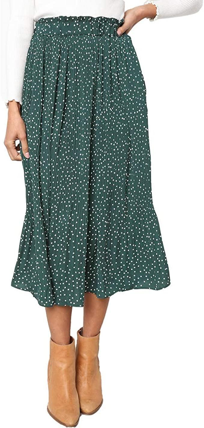 <p>This versatile <span>Exlura High Waist Pleated Skirt</span> ($29) comes in seven other color choices.</p>
