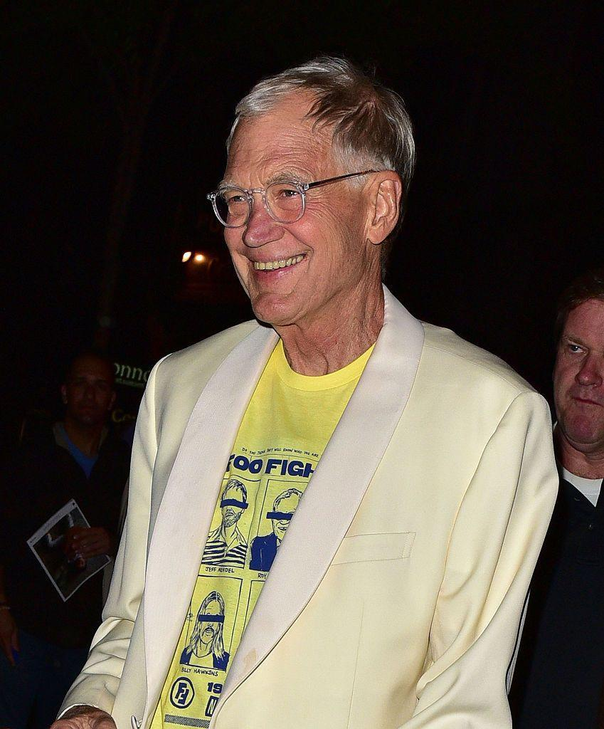 <p>Just a few years earlier, Letterman was clean cut for the cameras. </p>