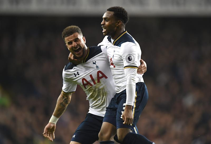 Danny Rose and Kyle Walker  - Credit: Tony Marshall/Getty Images