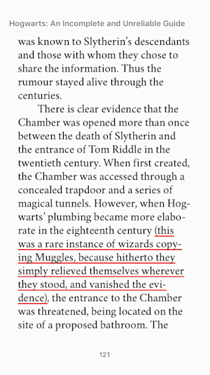 plumbing hogwarts incomplete and unreliable guide