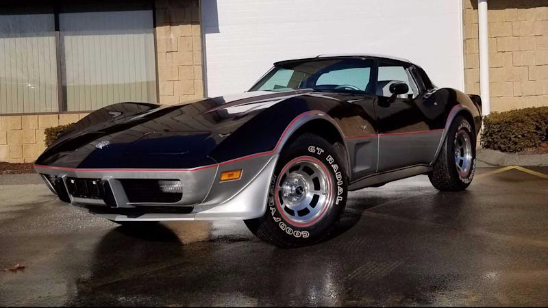 This Highly Collectible 1978 Corvette Pace Car Has Only 99 Miles