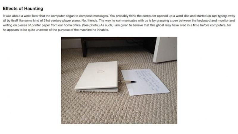 'Very Haunted' MacBook Up for Auction on eBay