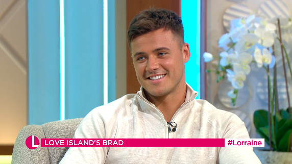 Brad McClelland said his younger sister had reached out. (ITV)