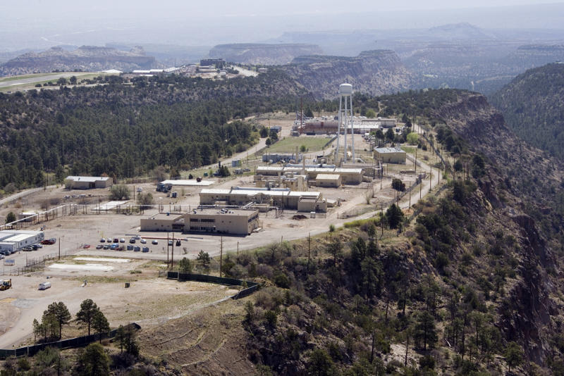 This May 2009 aerial photo provided by Los Alamos National Laboratory shows Technical Area 21. Former New Mexico Rep. Heather Wilson collected nearly half a million dollars in questionable payments from four federally funded nuclear labs after she left office, the Energy Department's inspector general says in a new report. (AP Photo/Los Alamos National Laboratory) ** NO SALES **