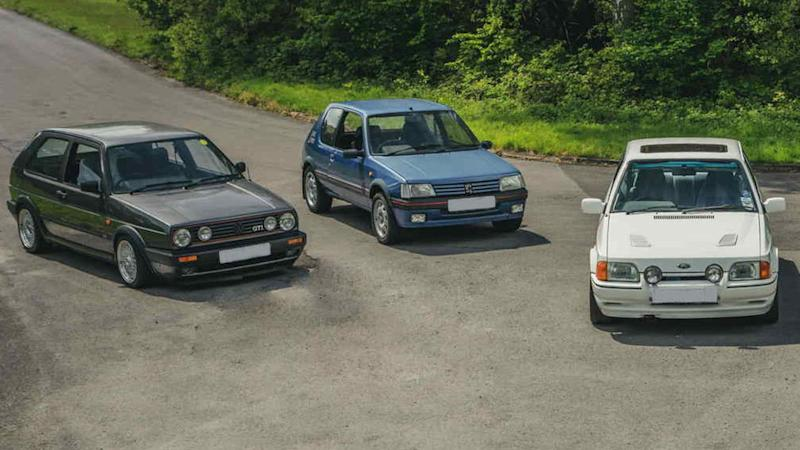Hot hatches more popular than supercar experiences