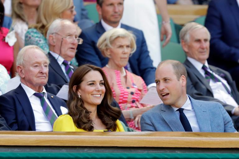 Wimbledon men's final 2018: William and Kate join host of stars including Benedict Cumberbatch and Eddie Redmayne in royal box