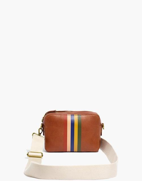 <p>I like the vintage look of this <span>Madewell Transport Camera Bag</span> ($128).</p>