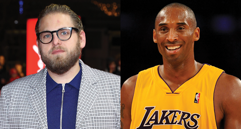 "Jonah Hill says meeting Kobe Bryant with his brother, Jordan Feldstein, in 2009 is ""one of my favorite memories ever."" Photo: Getty Images"