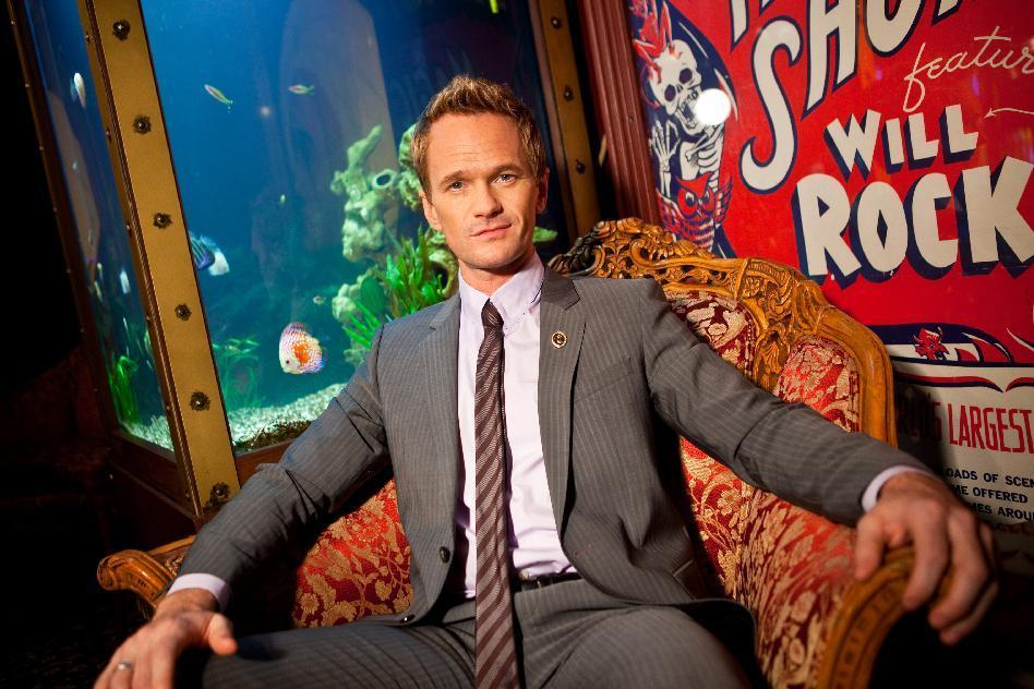 In this photo taken on Tuesday, Sept 10, 2013, Neil Patrick Harris poses for a portrait at the Magic Castle on in Los Angeles. As the 41-year-old entertainer prepares to host the 65th Primetime Emmy Awards on Sunday, Sept. 22, he talks to Associated Press about his magical past and present and plans for the future. He's actually magical, like in the abracadabra way, and has been since he was a kid. (Photo by Zach Cordner/Invision/AP)