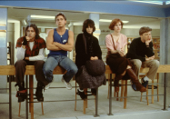<p>After watching <em>The Breakfast Club</em>, we all followed popular girl Claire Standish's lead and purchased a pair of brown leather lace-up boots. </p>