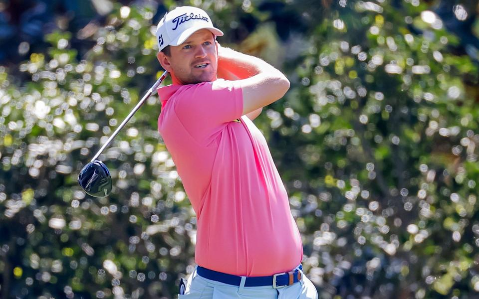 Bernd Wiesberger of Austria on the fifteenth tee during a practice round for the 2021 Masters Tournament at the Augusta National Golf Club in Augusta, Georgia, USA, 06 April 2021. The 2021 Masters Tournament is held 08 April through 11 April 2021 - ERIK S LESSER/EPA-EFE/Shutterstock