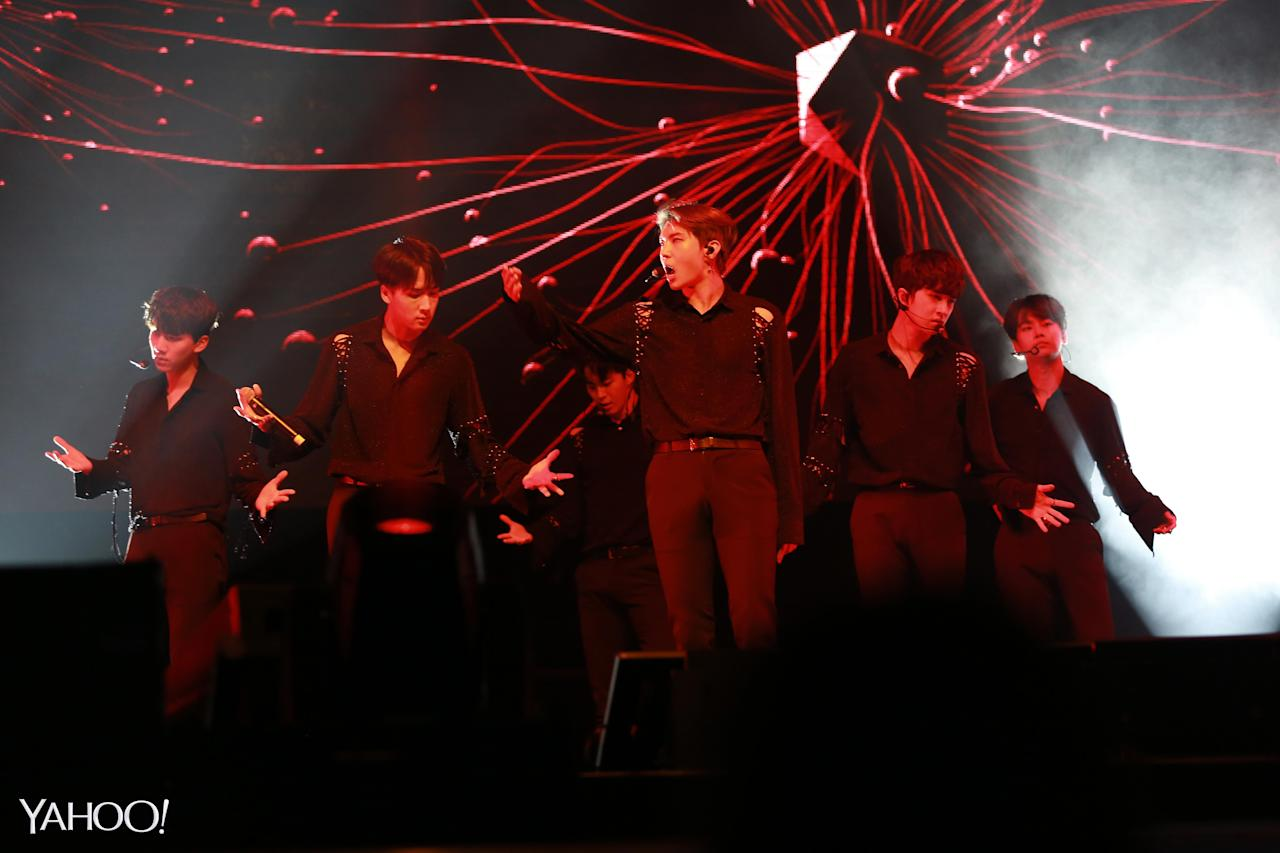 <p>VIXX Shangri-La concert in Singapore 2017 (Photo: Yahoo Lifestyle Singapore)</p>