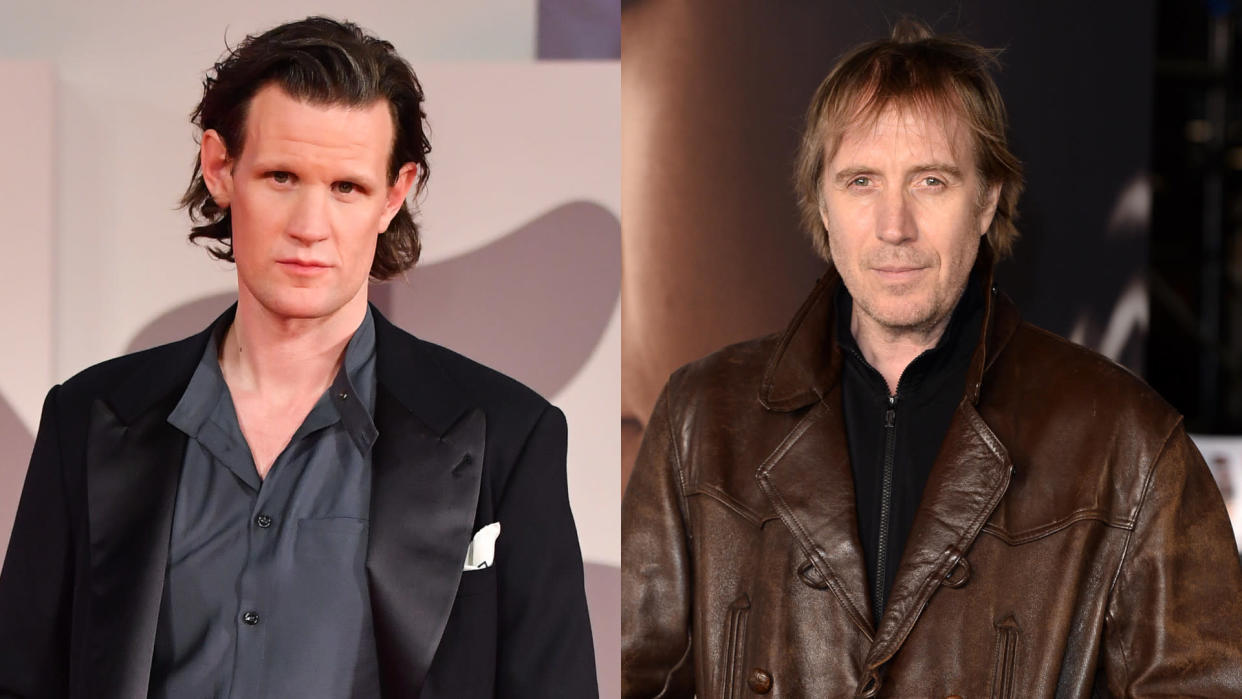 Matt Smith is backing Rhys Ifans to play the lead in 'Doctor Who'. (Stephane Cardinale/Corbis/Jeff Spicer/Getty Images)