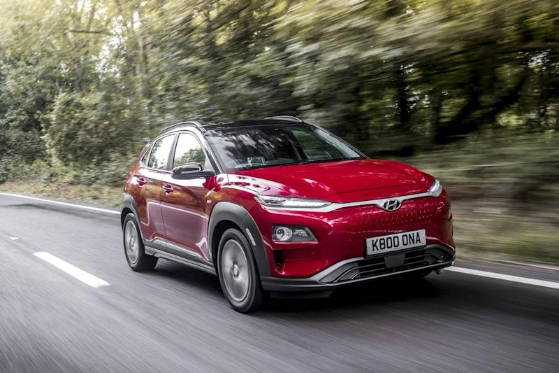 The Hyundai KONA is a popular electric car (Hyundai Motor UK LTD)