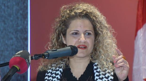 Prof. Rima Azar plans to mount a legal defence after Mount Allison announced plans to suspend her for the fall term. (Brian Chisholm/CBC News file photo - image credit)