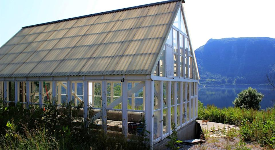 The island is also home to greenhouses so you can grow your own organic food (JamesEdition)