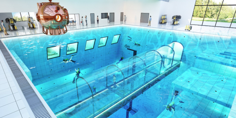 Poland Is Opening the World\'s Deepest Pool, Which Has Its ...