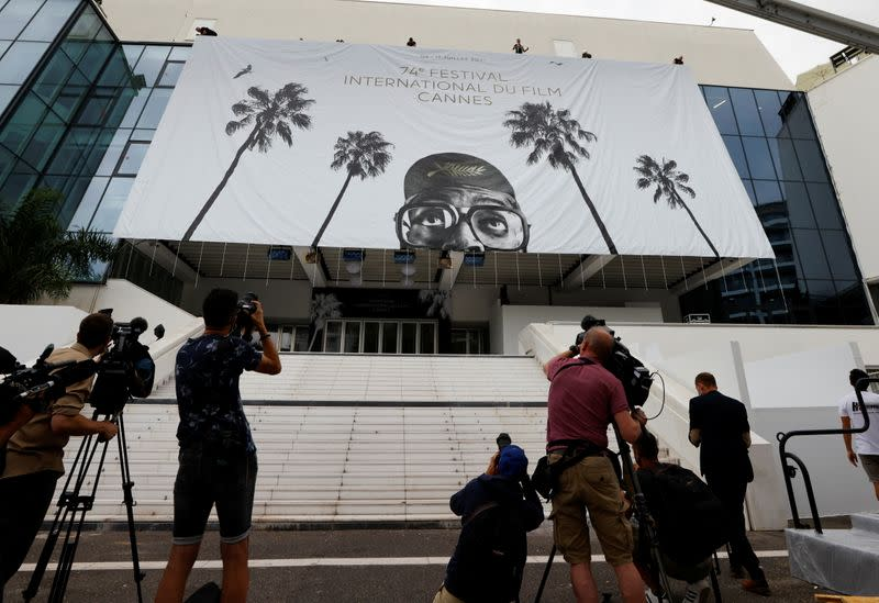 The 74th Cannes Film Festival – The official poster