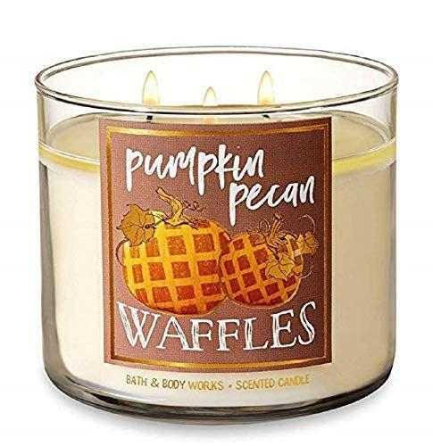 """<p><strong>Bath & Body Works</strong></p><p>amazon.com</p><p><strong>$29.69</strong></p><p><a href=""""http://www.amazon.com/dp/B00G1SY83A/?tag=syn-yahoo-20&ascsubtag=%5Bartid%7C10050.g.2655%5Bsrc%7Cyahoo-us"""" rel=""""nofollow noopener"""" target=""""_blank"""" data-ylk=""""slk:Shop Now"""" class=""""link rapid-noclick-resp"""">Shop Now</a></p><p>Golden waffles, maple syrup, and brown sugar come together in this luxurious candle. We love the calligraphy on the label too.</p>"""