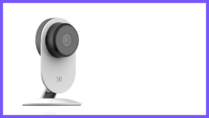 This home cam has a 4.1 out of five-star rating with more than 1,000 reviews on Amazon. (Photo: YI)