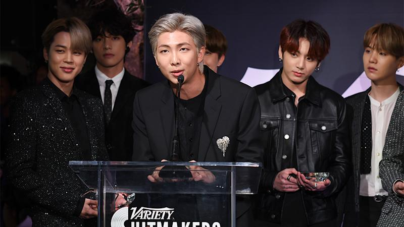 BTS wins Group of the Year at 'Variety's 2019 Hitmakers'