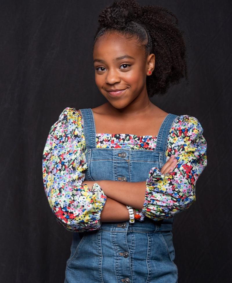 Priah Ferguson talks about her role as Erica Sinclair in Season 3 of the Netflix show