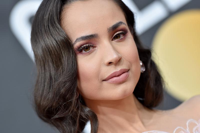 """""""We are with you Australia,"""" wrote actor Sofia Carson. (Photo: Axelle/Bauer-Griffin via Getty Images)"""