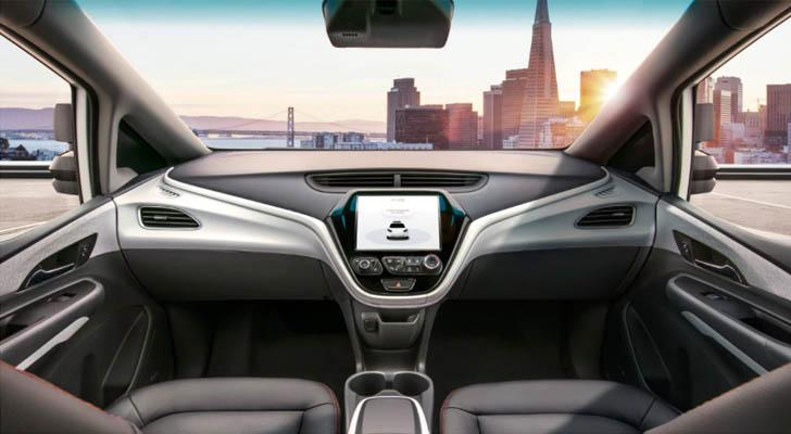 GM introduces self-driving vehicle without a steering wheel
