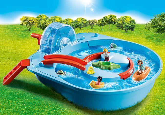 <p>One prevalent trend is this year's new releases is toys that use water to incorporate a sensory experience into their play. PLAYMOBIL, for example, has a new line of toddler toys that have floating pieces, scoopers, watering cans and other splashy features. The line ranges from a small duck boat with scoopers (Aqua Duck Family, $10) to lazy river where kids can use a crank to make the current flow (Splish Splash Water Park, $65).</p><p><em>Ages 18 months+<br>$10 – $65<br>Available Spring 2021</em></p>
