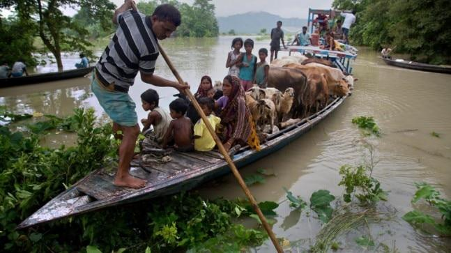 Some 43 lakh people have been displaced from their homes in Assam in the last 10 days due to rising waters across the mostly rural northeastern region.