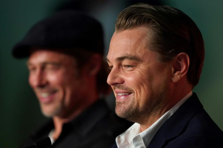 "Leonardo DiCaprio said there was ""an incredible ease"" between him and Brad Pitt as they worked together on ""Once Upon a Time... in Hollywood"""