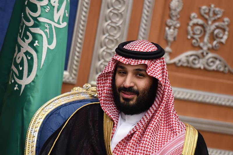 Saudi Crown Prince Mohammed bin Salman's move to consolidate power coincided with the Lebanese prime minister's announcement. (FAYEZ NURELDINE via Getty Images)