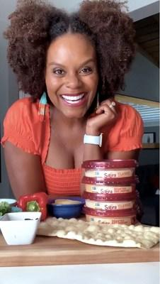 Sabra Teams with Vegan TikTok Star Tabitha Brown to Help Families 'Snack to School'